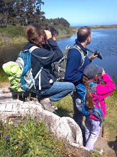 MCAS Education with young birders